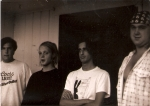 L to R: Matthew Tucker, Christian Adams, Ron Kwasman, Randy Edman