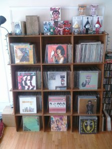 Wall of records 3