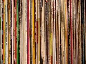 Wall of records 4