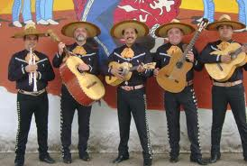 This a mariachi band. They may play some ranchera, if you ask nicely.