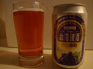 Fruit beer grape