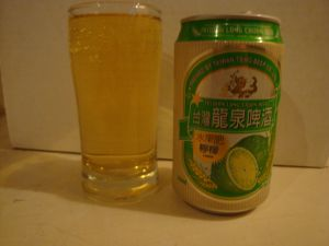 Fruit beer lemon