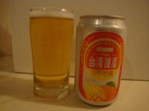 Fruit beer mango