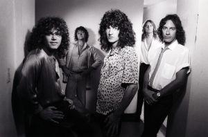 R.E.O. Speedwagon circa Hi Infidelity (1980), at the height of their popularity