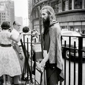 Moondog+at+Herald+Square.+1953