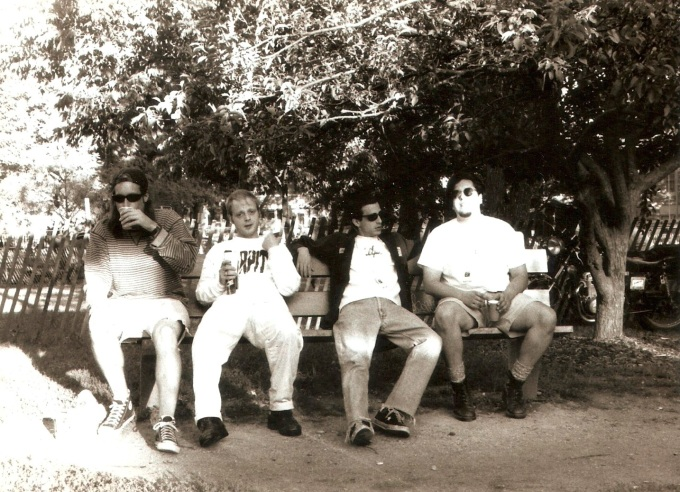 Whitey at Wicker Park with Bob Ryan
