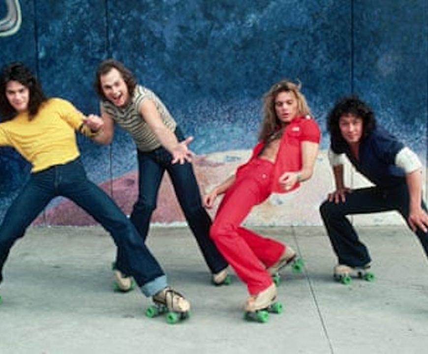 Van Halen on roller-skates